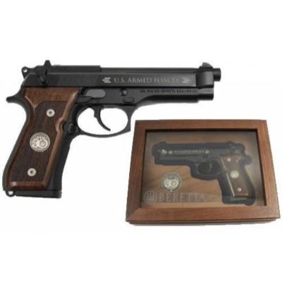 beretta M9 handgun with case