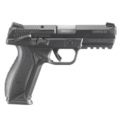 Charcoal American Ruger Pistol